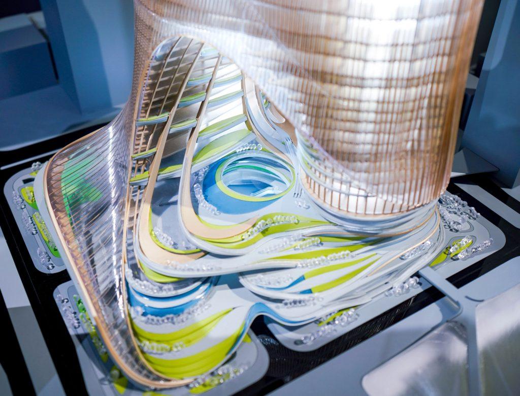 MAM Shanghai presenta la primera exposición de Zaha Hadid Architects en China continental, con una muestra retrospectiva de proyectos que datan desde 1982 hasta la actualidad 6