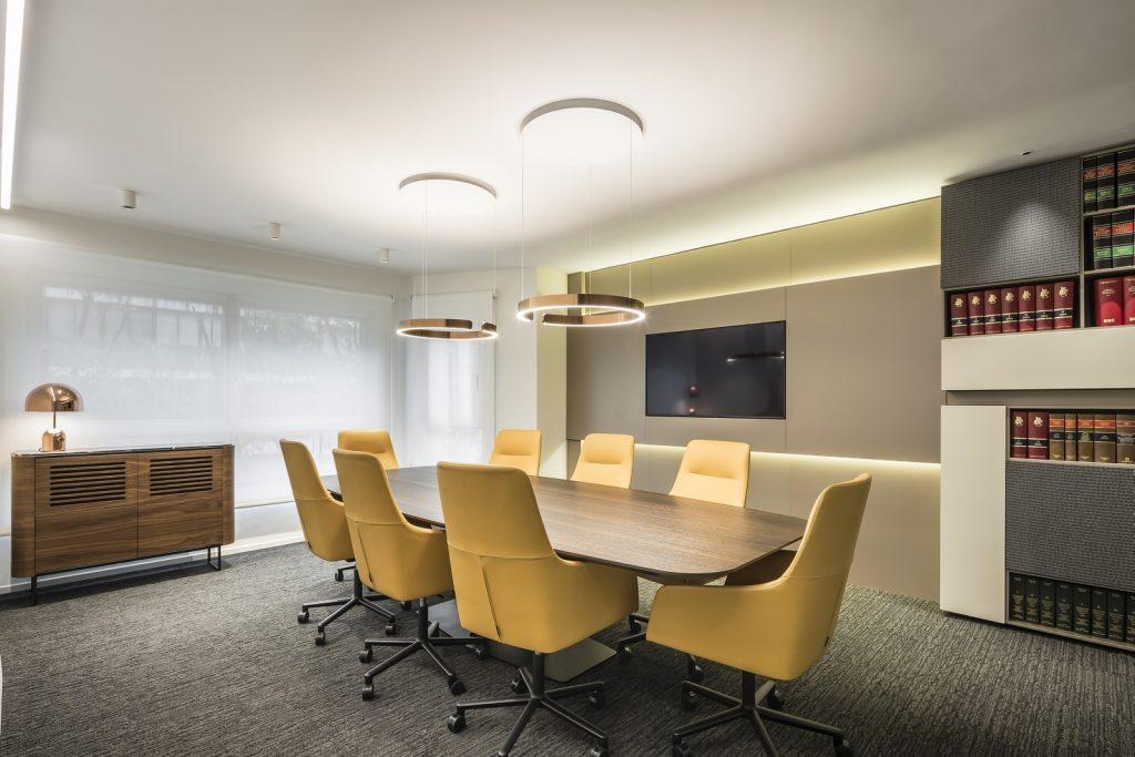Interiorismo en el despacho de abogados Cañizares Valle 5