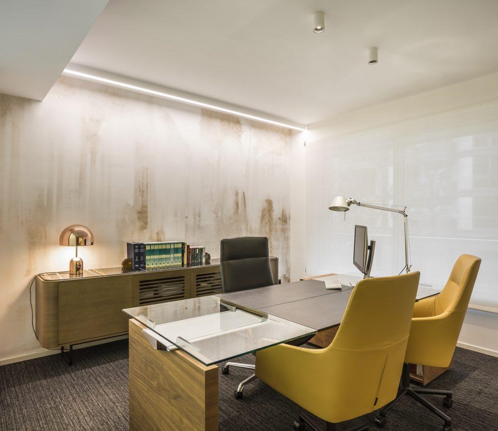 Interiorismo en el despacho de abogados Cañizares Valle 7