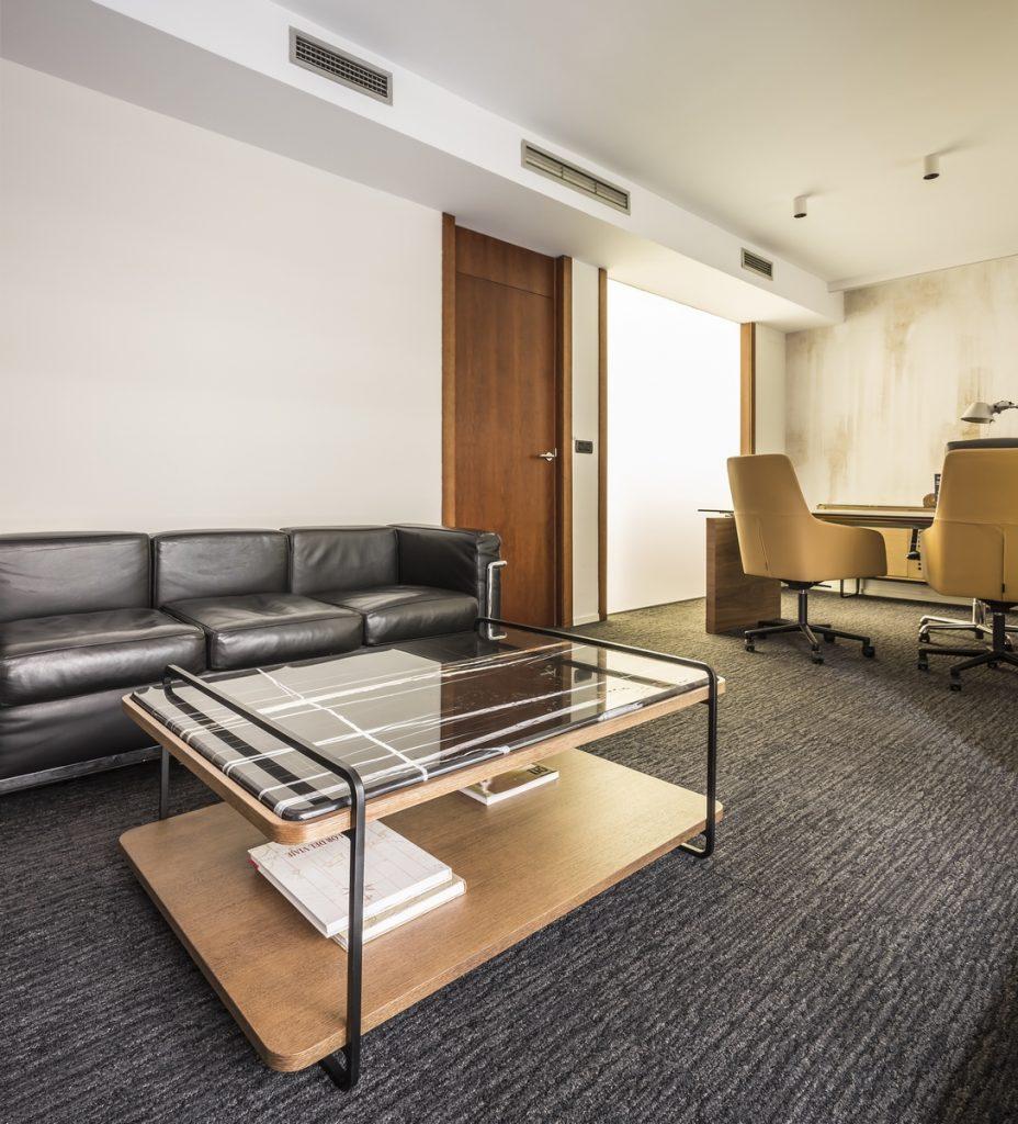 Interiorismo en el despacho de abogados Cañizares Valle 10