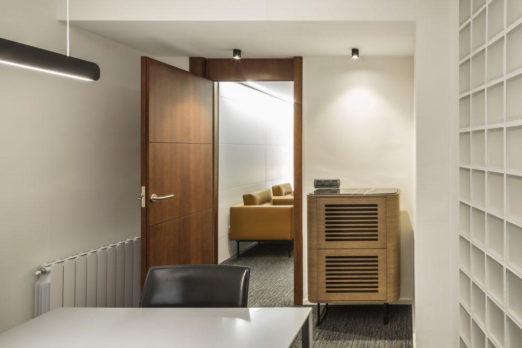 Interiorismo en el despacho de abogados Cañizares Valle 11