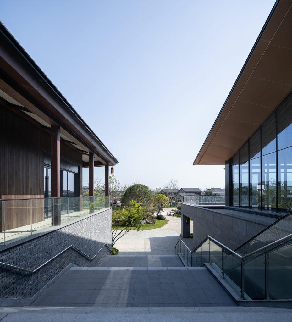 Costura de texturas: New Century Resort, Nanjing 17
