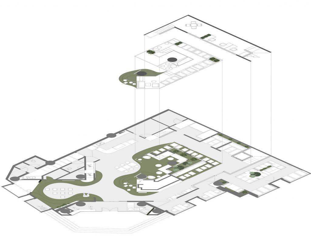 QUCESS: diseño en aliento · práctica omnidireccional del concepto de diseño del metabolismo 10