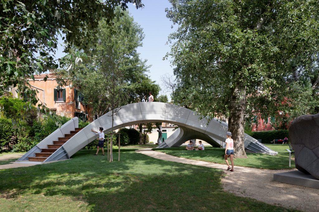 Striatus: primer puente de hormigón impreso y no reforzado en 3D 16