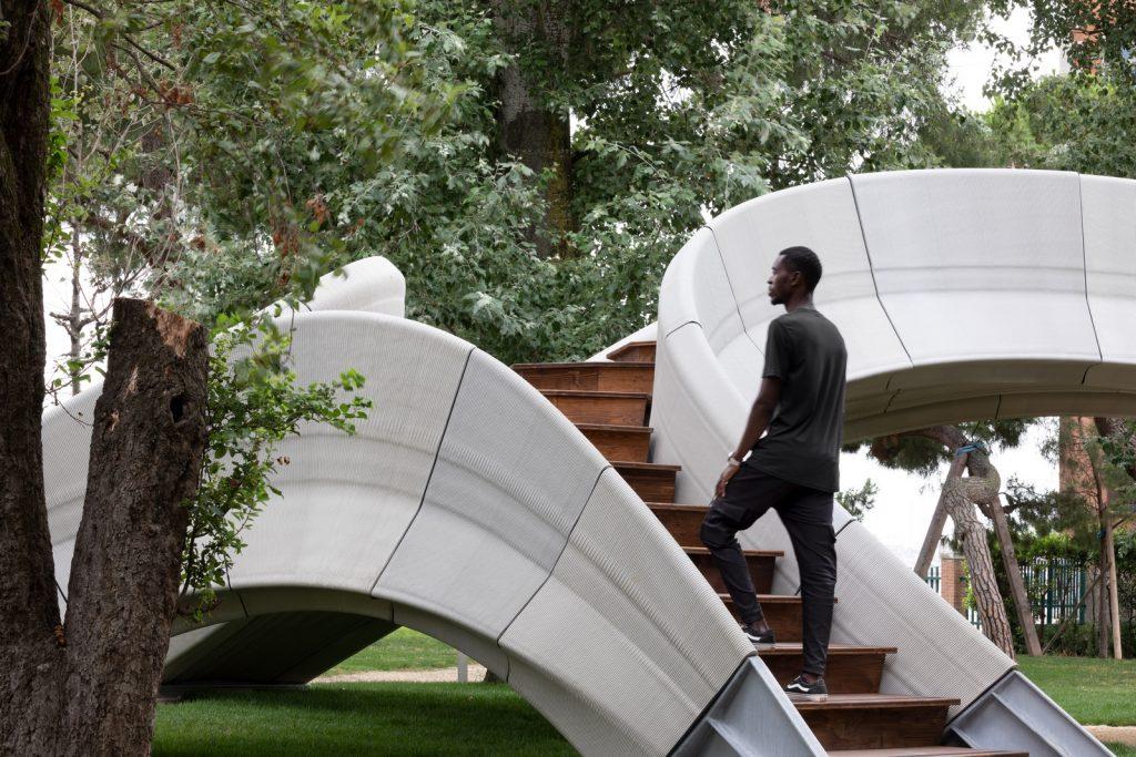 Striatus: primer puente de hormigón impreso y no reforzado en 3D 2
