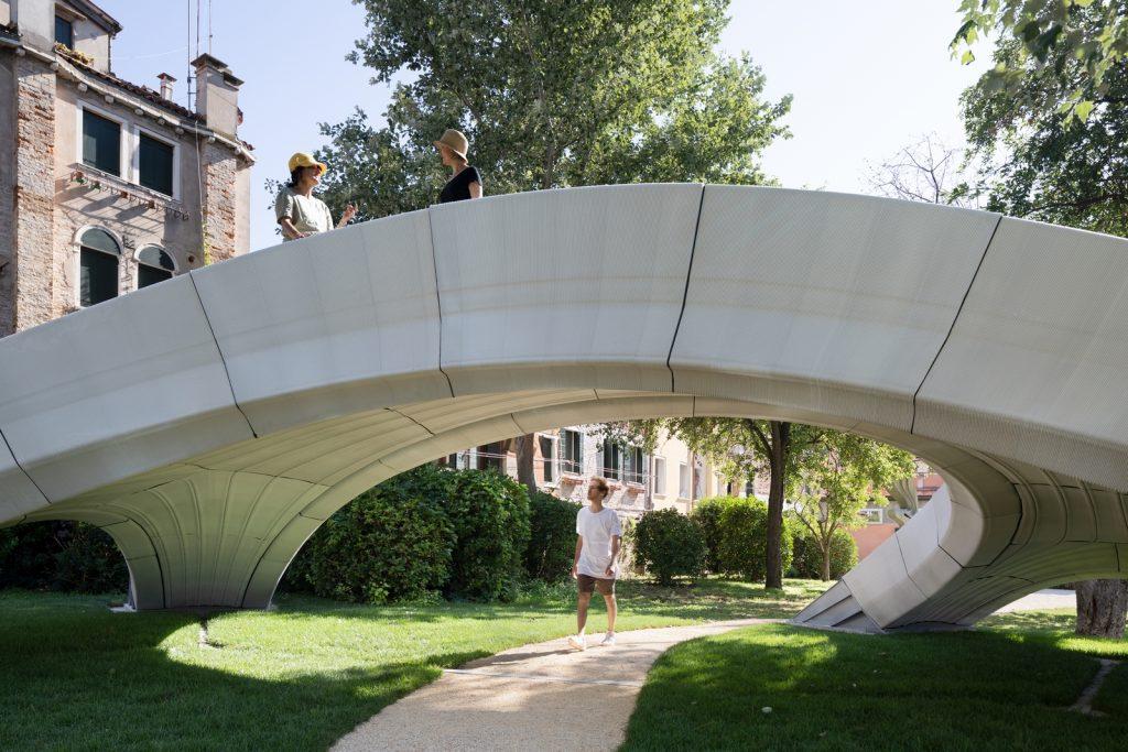Striatus: primer puente de hormigón impreso y no reforzado en 3D 6