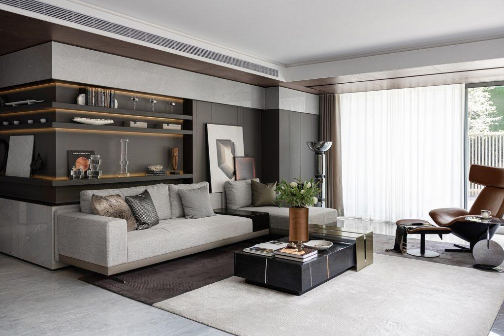 Elegante mansión Show Flat 175 de EVD Design 5