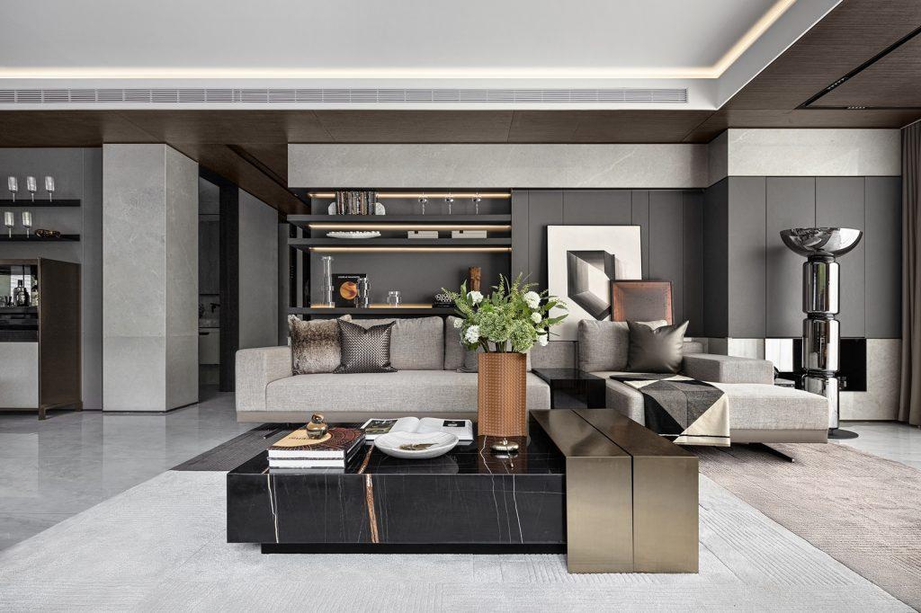 Elegante mansión Show Flat 175 de EVD Design 10