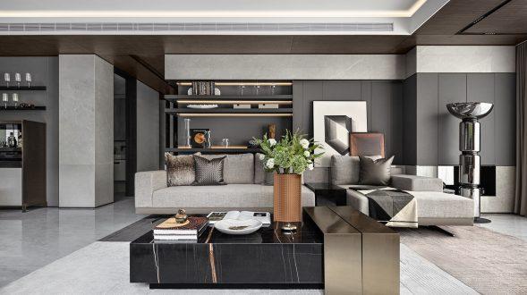 Elegante mansión Show Flat 175 de EVD Design 30