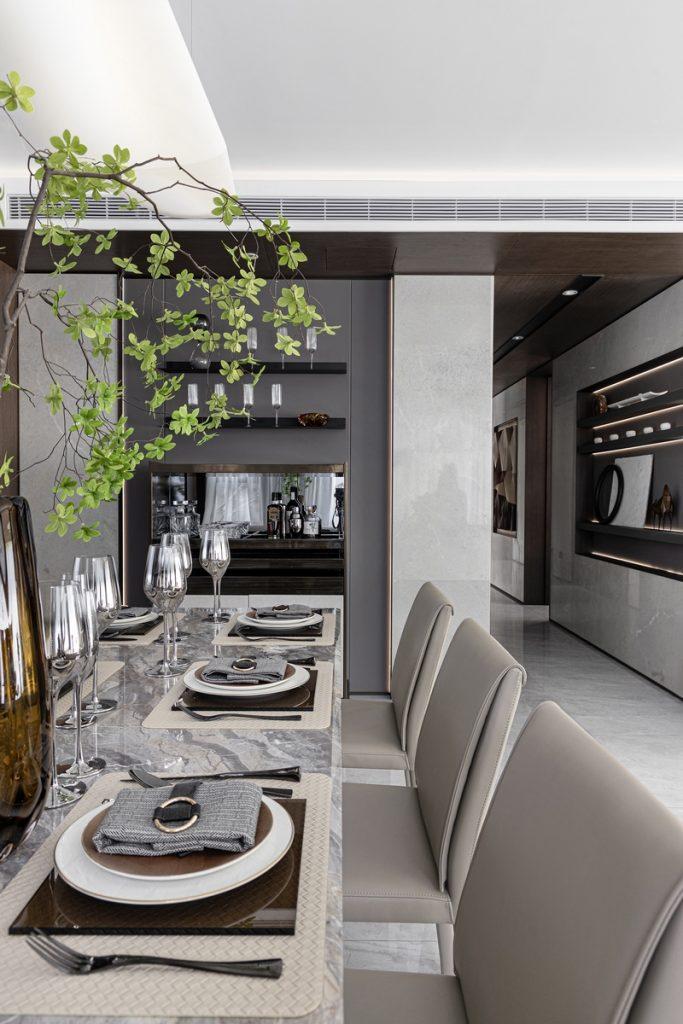 Elegante mansión Show Flat 175 de EVD Design 11