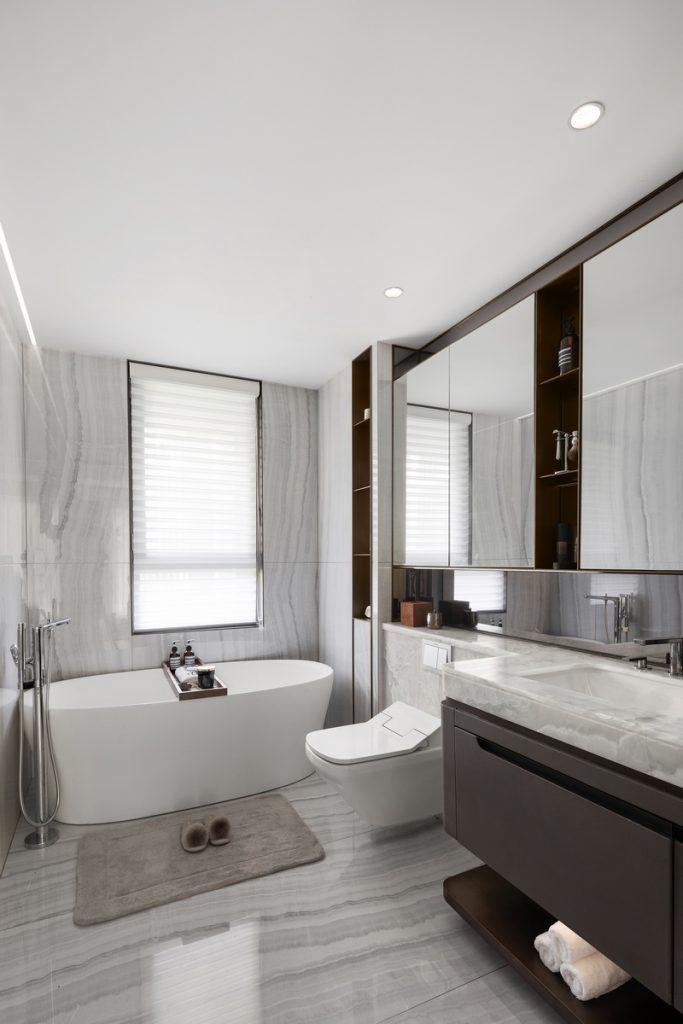 Elegante mansión Show Flat 175 de EVD Design 21